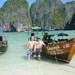 Maya Bay with Knock Out Boat