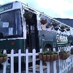 Dorothy the Food Hut Bus in Spring