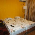 Clean, comfortable, air-conditioned room