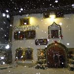 Chesa Veglia in the snow
