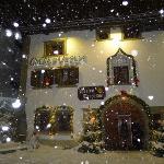 Chesa Veglia in the snow