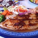 Filete de pescado al ajillo, my favourite