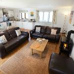 Lounge in Smiley cottage