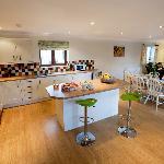 Kitchen in Sadlers cottage