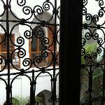 Vista desde la ventana de nuestra habitación