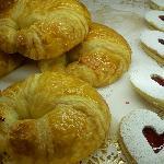 Butter Croissant & Almond Shortbread Peek-a-Boo Cookies