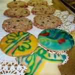 Candy Cane Chocolate Chip & Holiday Cookies