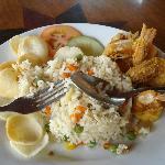 Prawns- fried Rice