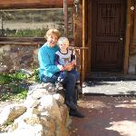 Donna, owner with grandson