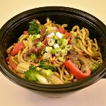Egg Noodles, Beef and Veg Combo
