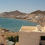 Vista playa San José desde el balcón