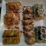 Oh yellow roll and shrimp tempura how i love you