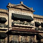 Original Exterior of Menger Hotel