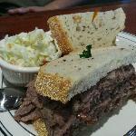 Hubby's Sandwich!