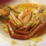 caldereta de arroz y marisco