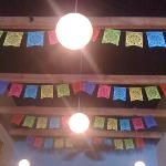 ceiling in the bar by Madame tam