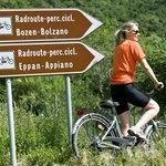Direkte Anbindung an den Fahrradweg