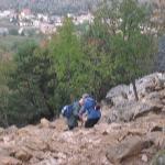 bajada del cerro Krizevac