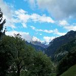 Room view of the Jungfrau