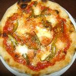 Pizza con Peperoni Nostrani