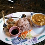 Panang Curry with Dumpling lunch special