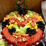 Fruit Salad in weekend buffet