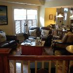 Comfy Living Room area from breakfast nook