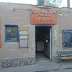 Las Delicias de Carmen - Fachada do restaurante