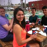Cool kids on the patio!