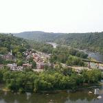 View of Harpers Ferry from Loudoun Heights