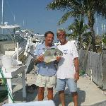 Permit caught oceanside on the Fishing Foool with Capt. Wayne