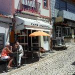 Ancora Cafe coming up from Alvor Harbour