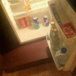 Minibar in Room# 803