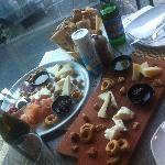 amazing cheese platter