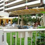 lounge area at resort