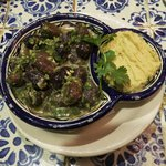 Moroccan Olives and Hummus