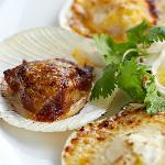 Gratinated Java Oysters