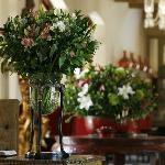 Classic flower arrangements using locally grown flowers.