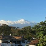 View of Kilimanjaro from the balcony