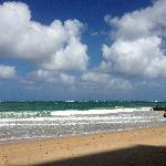 Condado Beach during winter - very windy but nice!