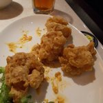 Thumb up for salted egg prawn