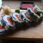 The best melting salmon roll I ever had!