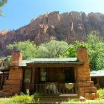 un des bungalows de Zion lodge