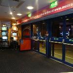 Entrance to club