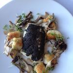 truffle encrusted fish, divine