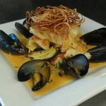 Cod Fish & Mussels