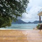 Wasserdichte Kamera macht es möglich - Bild aus dem Pool.