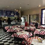 Inside Archie's Diner