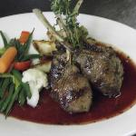 Rack of Lamb (cassis and Port Wine sauce)