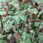 Martinelli's very popular chopped salad